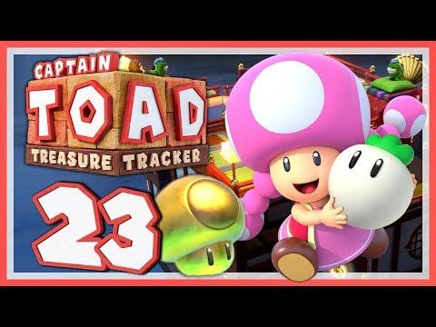 CAPTAIN TOAD: TREASURE TRACKER #23: Das Goldpilz-Fiasko auf japanische Dächern! [1080p] ★ Let's Play