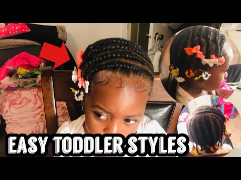 Easy Protective Style For Toddlers Natural Short Hairstyles For Toddlers Hair Growth Methods Youtube