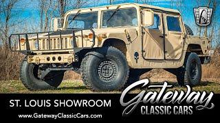 1987 AM General Hmmwv M998 Humvee For Sale Gateway Classic Cars St. Louis #8361