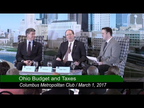 Columbus Metropolitan Club: Ohio Pillars of Policy -  Budget and Taxes