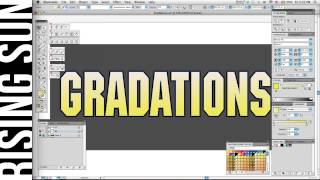 Spot Color Gradations in Illustrator For Screen Printing