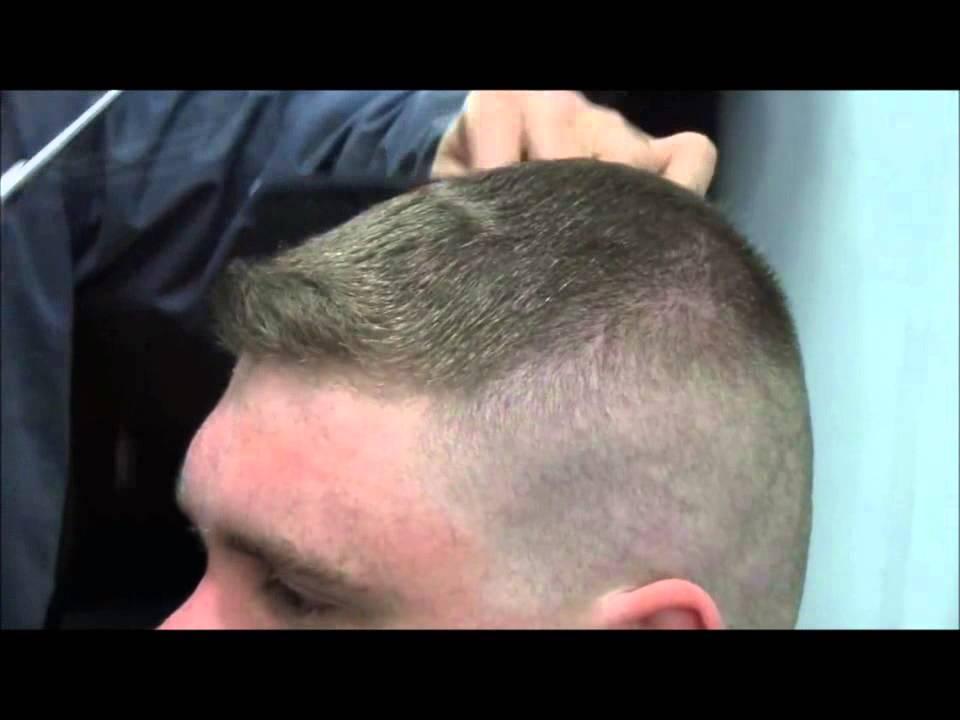 Corte de cabello soldado ruso