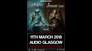 Man Must Die (SCO) - Live at Audio, Glasgow 11th March 2018 FULL SHOW HD