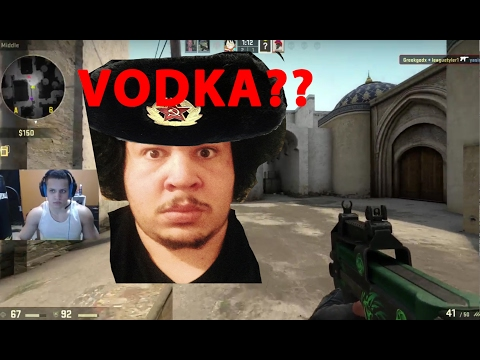 TYLER1 and GREEK play CS GO with russian kids (VOD 15th Feb 2017)