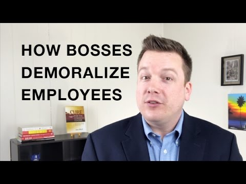 How Bosses Demoralize Employees - Your Practice Ain't Perfect - Joe Mull