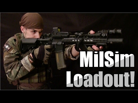 Custom MilSim Loadout | Matt D. (2017)