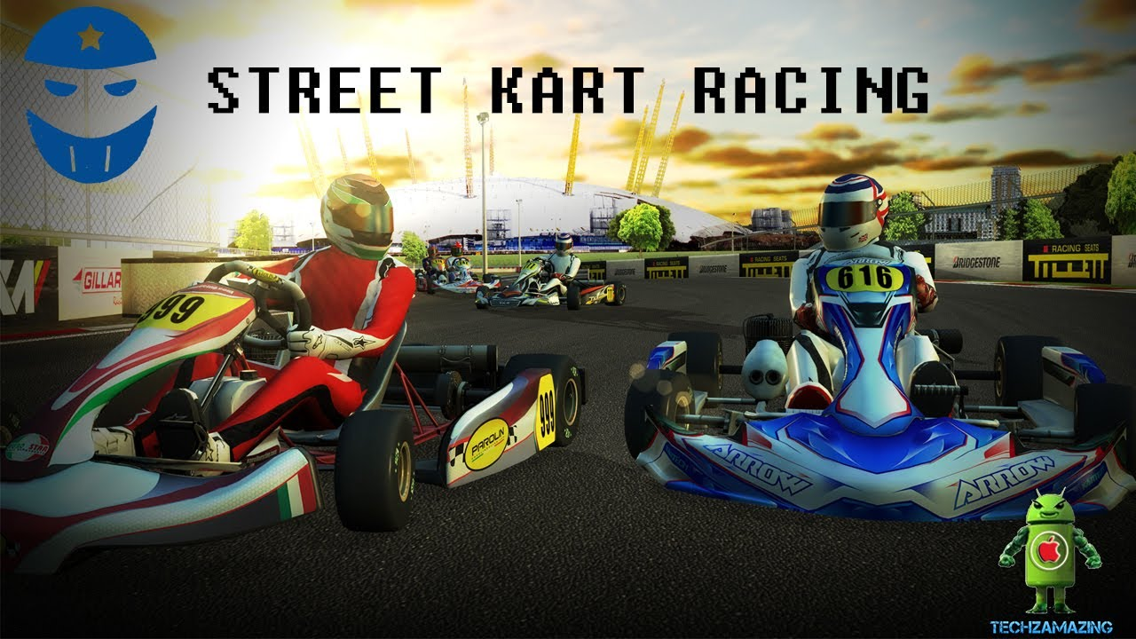 ios kart STREET KART RACING iOS GAMEPLAY   MULTIPLAYER GAME!   YouTube ios kart