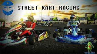 STREET KART RACING iOS GAMEPLAY - MULTIPLAYER GAME!