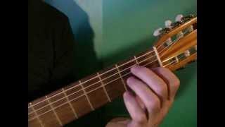 Видеоурок 1 Моя первая песня под гитару