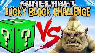 CREEPER LUCKY BLOCK VS L'OGRE ! | LUCKY BLOCK CHALLENGE !