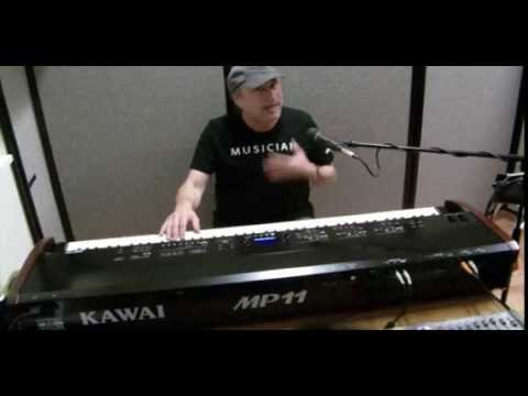 introducing the kawai mp11 professional stage piano youtube. Black Bedroom Furniture Sets. Home Design Ideas
