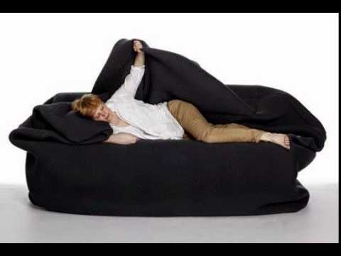 giant bean bag bed Get Yours} Bean Bag Bed With Blanket and Pillow   YouTube giant bean bag bed