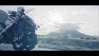 Download lagu This motorcycle has two front wheels Yamaha Niken MP3