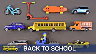 Back To School Street Vehicles for Kids - Cars Trucks Hot Wheels Matchbox Tomica - Organic Learning(Back to School Cars, Trucks, Street Vehicles for Kids - Die-Cast Cars and Trucks by Hot Wheels, Matchbox, Lego, Siku, and Tomica トミカ - Organic Learning., 2016-09-07T04:02:38.000Z)