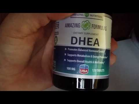 AMAZING NUTRITION - DHEA Dietary Supplement