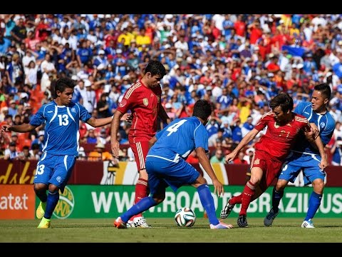 Spain vs El Salvador - 7 June 2014 (David Villa, Inestia, Sergio Ramos, Diego Costa and MORE!)