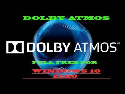 How To Install Dolby Atmos On Windows 10 For Free💥💥