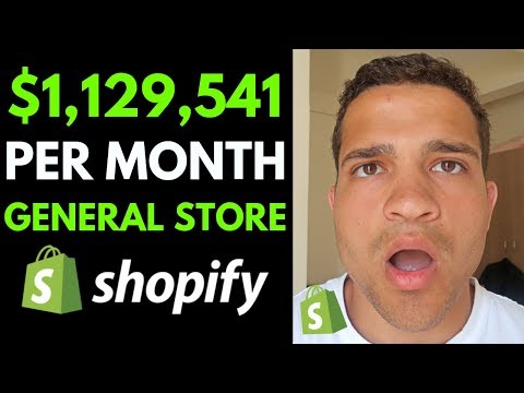How This Shopify Store Makes $1,129,541 Per Month Dropshipping General Products (Dropshipping) thumbnail