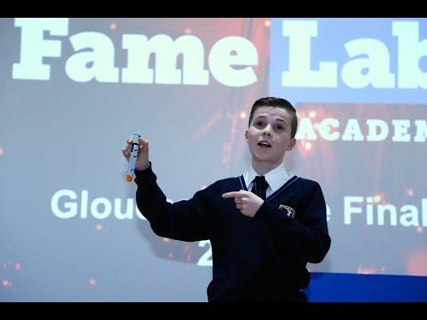 Lewis White, Dene Magna School - FameLab Academy Final 2016