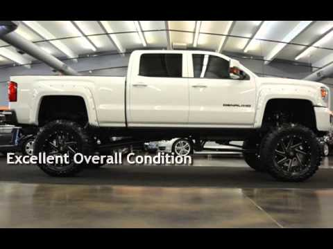 "2011 Chevy Duramax For Sale 2015 GMC Sierra 2500 DENALI 12"" COGNITO LIFT 22"" FUEL 40 ..."