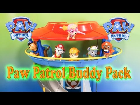 Paw Patrol Pup Buddies Pack Video Toys Unboxing