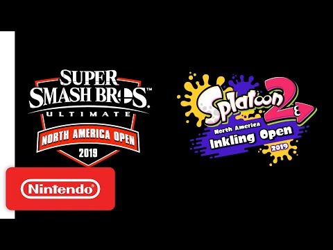 Super Smash Bros. Ultimate North America Open & Splatoon 2 North America Inkling Open Announcement thumbnail