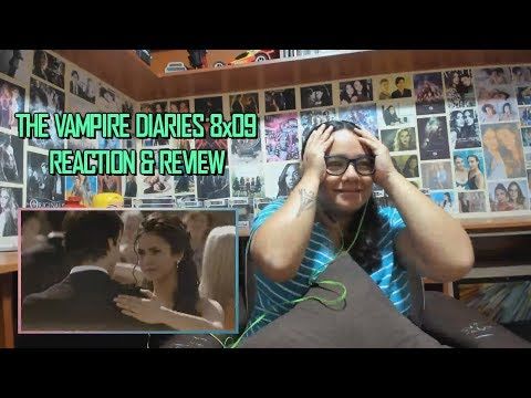 """The Vampire Diaries 8x09 REACTION & REVIEW """"The Simple Intimacy Of The Near Touch"""" S08E09   JuliDG"""