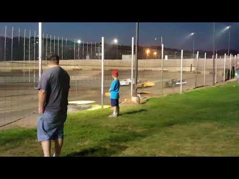Peoria Speedway heat 1 September 23 of 2017