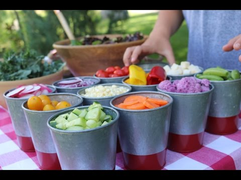 The Flexible Chef | 4 Steps To The Best Salad Bar Ever