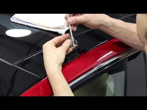 Tesla Model S. Roof Rack Installation HD + 3D (Установка багажника)