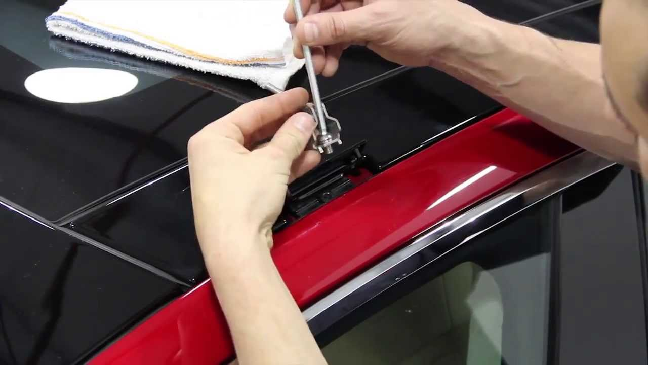 Tesla Model S Roof Rack Installation HD 3D