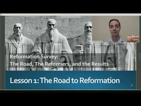 07.30.17 Sunday School: The Road to Reformation