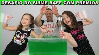 SLIME BAFF CHALLENGE COM PRÊMIOS