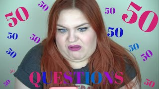 50 QUESTIONS TAG | Lauren Clifford