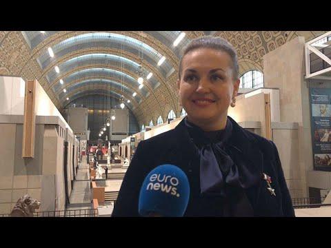 Russian cosmonaut Elena Serova on space travel and her move into politics