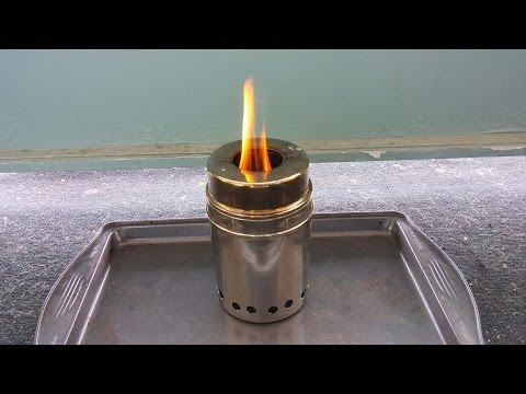 Breaking down version 4 - DIY Stainless Steel Wood Gas Stove