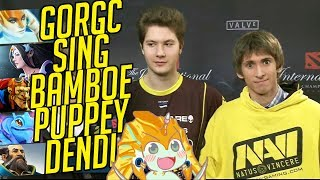 Teamplay and Memes - Gorgc Sing Bamboe Puppey Dendi