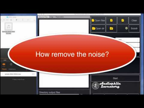How Remove Noise for High Resolution Audio File