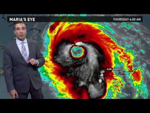 Hurricane Maria Outlook: September 21, 2017