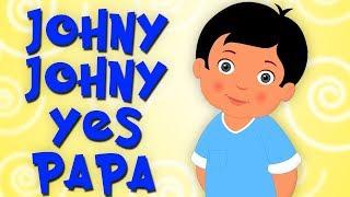 Johny Johny Oui papa | comptine | Johny Johny Yes Papa