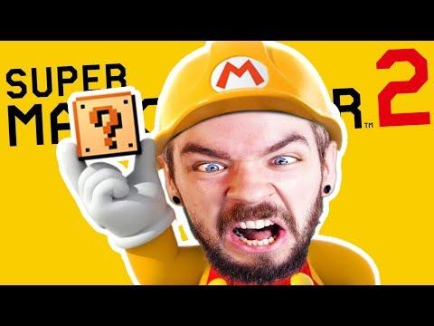 ROSS'S NEW INSANE LEVEL | Super Mario Maker 2 #2