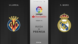 Villarreal 2 - 2 Real Madrid