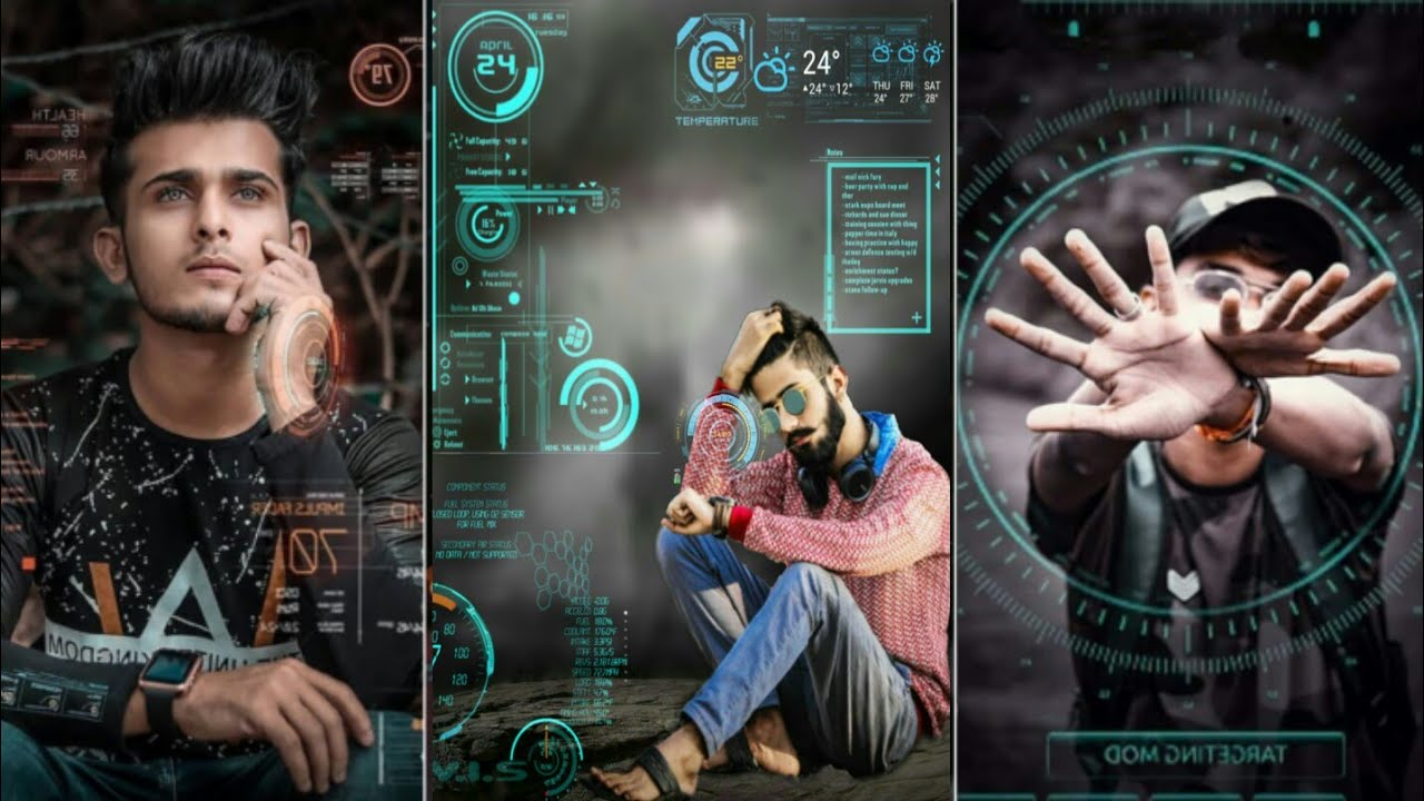 Time machine | Futuristic Editing in picsart | Yash Editz zone - YouTube