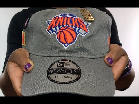 Knicks  2018 NBA DRAFT STRAPBACK  Grey Hat by New Era - YouTube cbb797604
