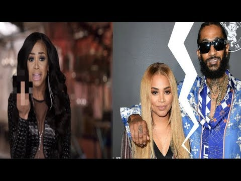 Masika and Black Twitter GO CRAZY after Nipsey Hussle announces his Breakup w/ Lauren London