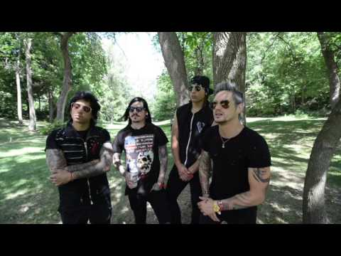 Escape the Fate video Interview - Heavy Montréal - August 6th, 2016