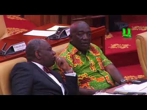 Gas cylinder causes stir in parliament