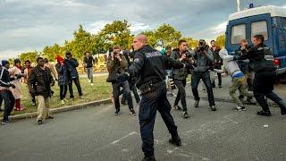 """فرنسا - بريطانيا : المهاجرون في منطقة كاليه موضوع """"حرب كلامية"""""""