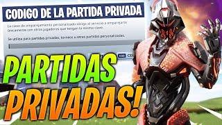 Partidas *PRIVADAS* FORTNITE (SERVER BRASIL) en DIRECTO (CON SUBS) *Fortnite Argentina*