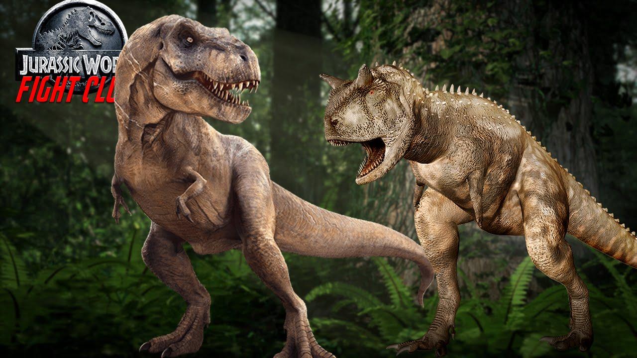 jurassic world fight club episode 4 carnotaurus vs